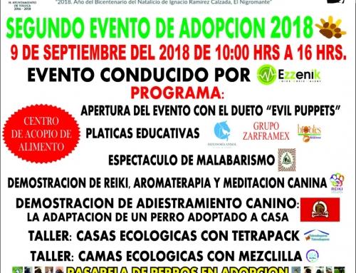 Segundo Evento de Adopción 2018