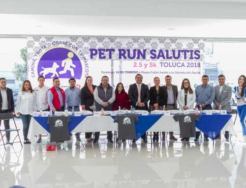 Conferencia de prensa con la carrera Pet Run 2018