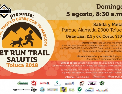 Pet Run Trail Salutis – Toluca 2018