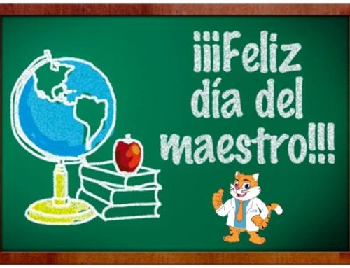 Feliz día del maestro